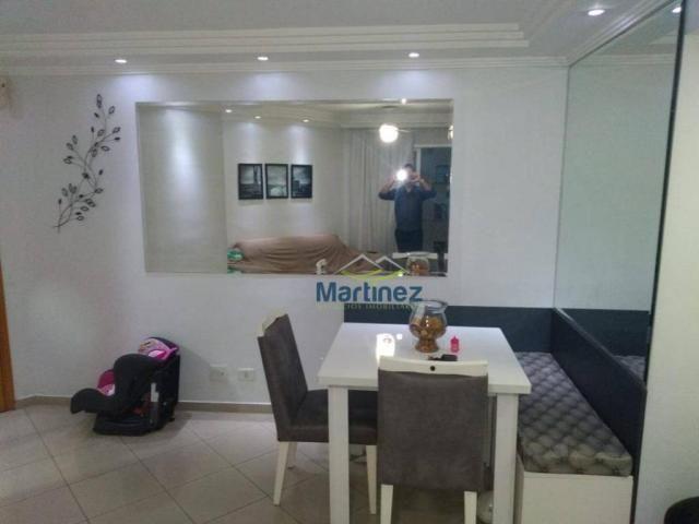Apartamento com 2 dormitórios à venda, 56 m² por r$ 265.000 - vila alpina - são paulo/sp - Foto 5