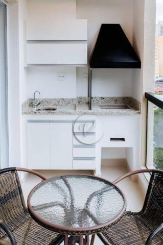 Apartamento com 3 dormitórios para alugar, 90 m² por r$ 2.800/mês - jardim bela vista - sa - Foto 9