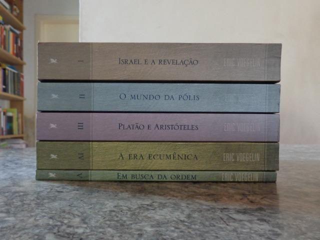 Coleção Ordem e História, edições Loyola - Eric Voegelin - Foto 2
