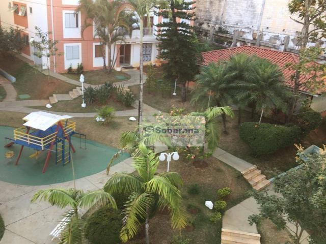Apartamento com 2 dormitórios à venda, 69 m² por r$ 200.000,00 - chácaras campos elíseos - - Foto 14