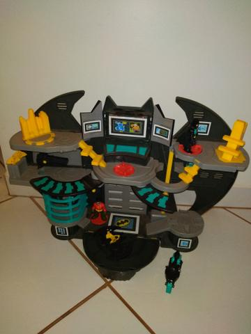 Batcaverna + Batman armadura de combate imaginext - Foto 4