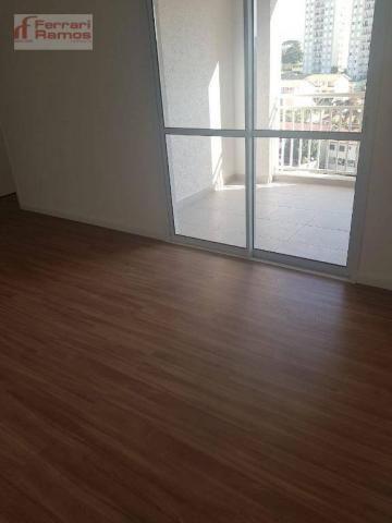 Apartamento com 3 dormitórios à venda, 72 m² por r$ 425.000,00 - vila augusta - guarulhos/ - Foto 8