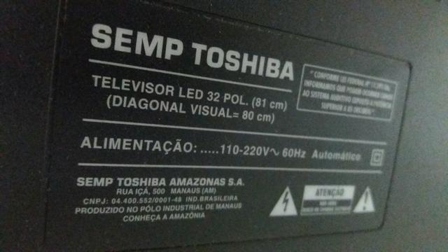 Tv led 32 semp tochiba