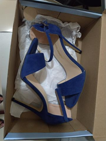 Sandália Salto alto perfeita tamanho 37 - Foto 4