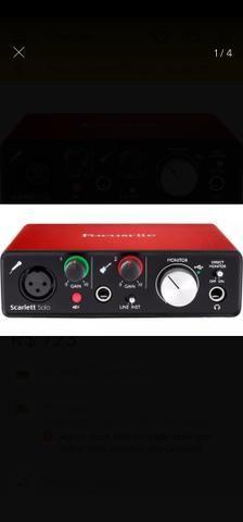 Interface Áudio Scarlett Solo USB (2a Geração) FOCUSRITE - Foto 2