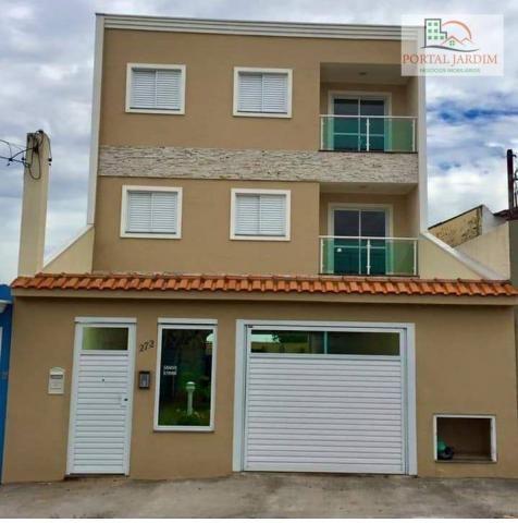 Apartamento com 2 dormitórios à venda, 75 m² por r$ 350.000 - vila camilópolis - santo and - Foto 5