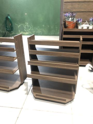 Estante madeira - Foto 3
