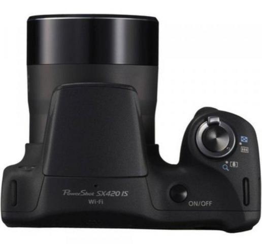 Câmera Cânon PowertShot SX420 IS - preta - Foto 4