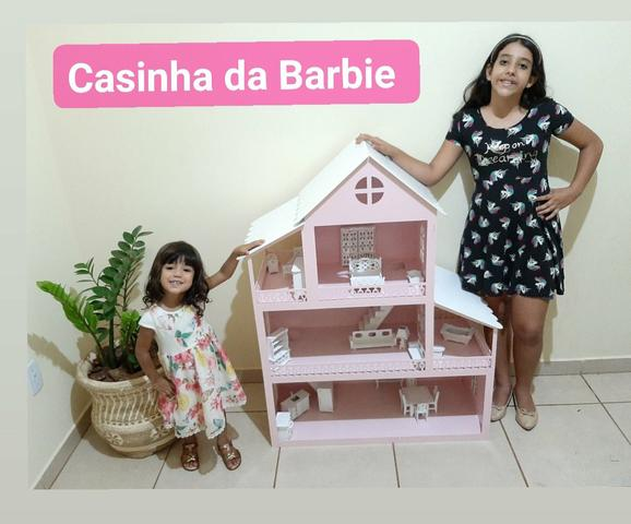 Casa Barbie Grande 1,20 de Altura - Foto 2