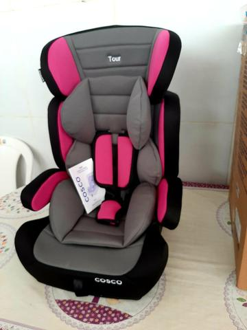 Cadeira de carro nova na CAIXA 9kg até 36kg Vira acento - Foto 3
