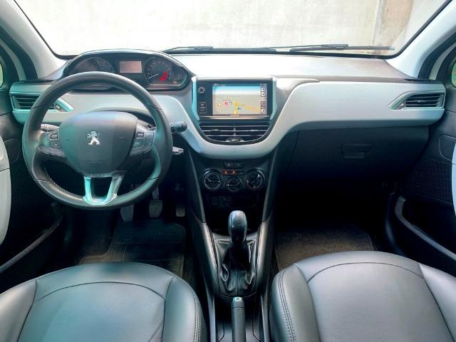 Peugeot 208 Allure 1.5 Manual 2014 Completo + Teto Panorâmico + central Multimídia - Foto 10