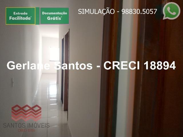 Escritura Grátis Casa 02 Quartos, 2 banheiros, 2 garagens - Foto 3