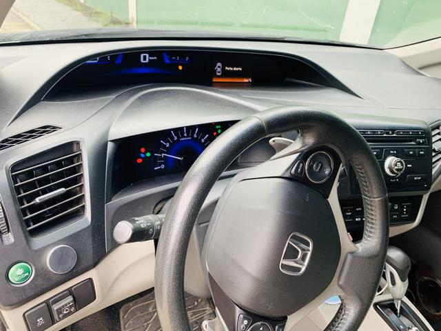 Vendo Honda civic 16 Lxr com kit gás - Foto 8