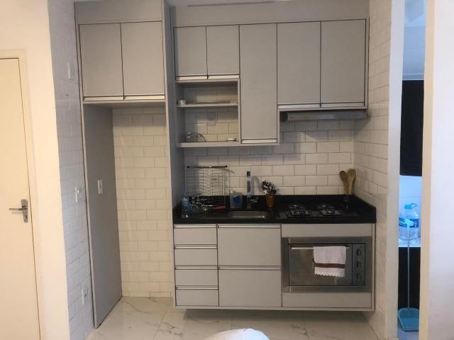 Apartamento Semi-mobiliado - Condomínio Clube Dallas - Campo Largo - Foto 9