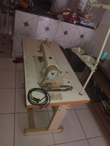 Máquina de costura industrial reta semi-nova - Foto 3