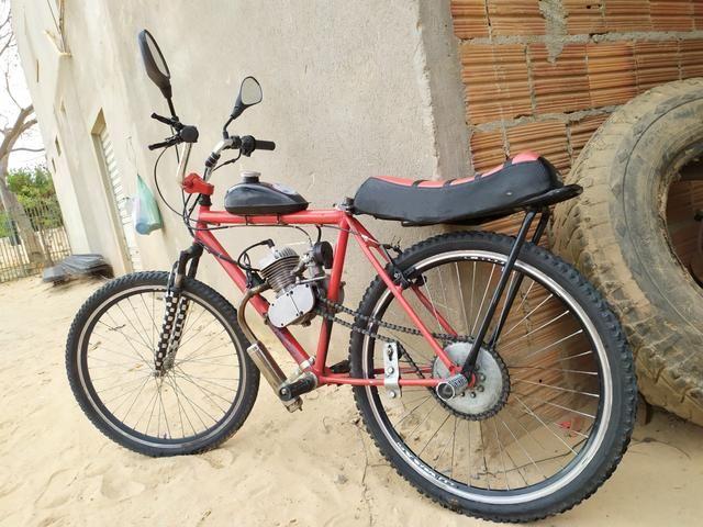 Bicicleta Motorizada 80cc - Foto 8