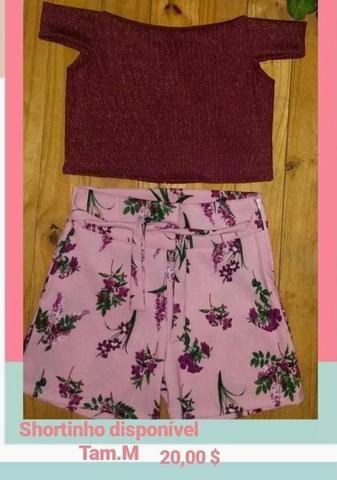 Shorts lindos disponíveis