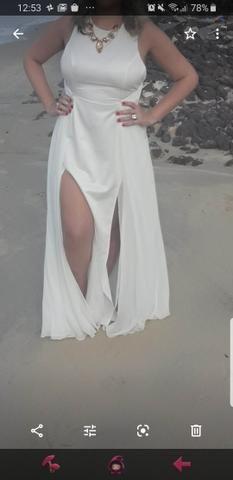 Vestido Off white Tamanho G - Foto 2