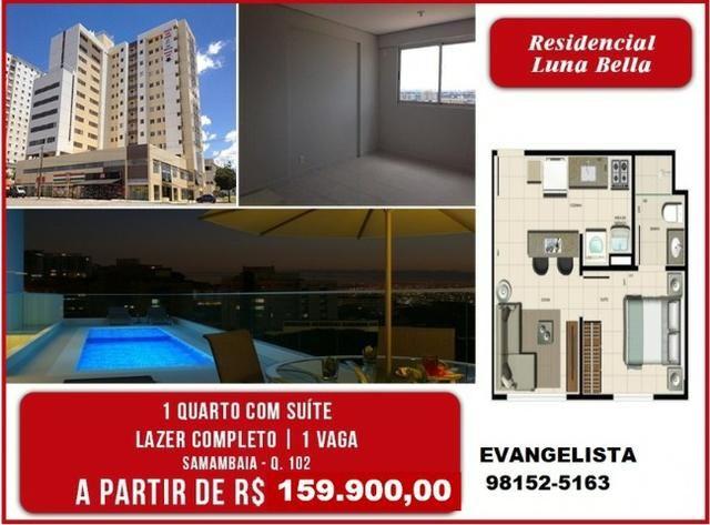 Apartamentos de 1 e 2 Quartos Aceita Financiamento e Fgts Ao Lado do Metrô Taxas Grátis - Foto 7