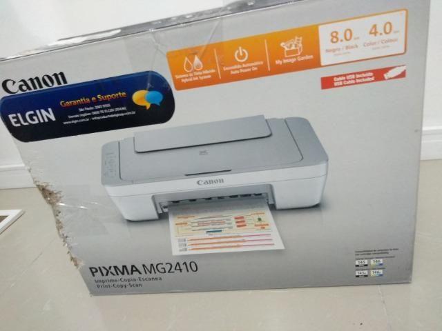 168bf0185 Impressora Multifuncional Canon Pixma MG2410 NOVA - Bivolt ...