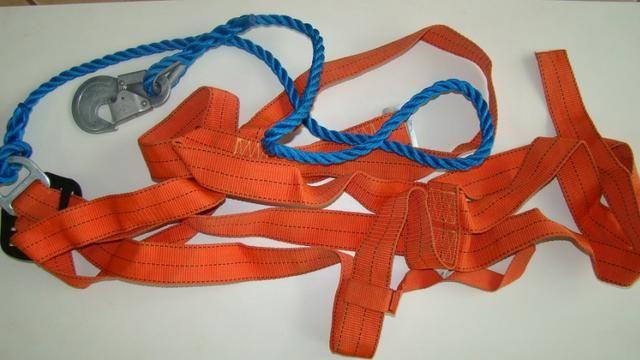 6d2cdbbb1c259 Kit cinto de Segurança para trabalho em altura com talabarte ...