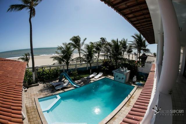 Casa Villa Branca frente mar no Cumbuco
