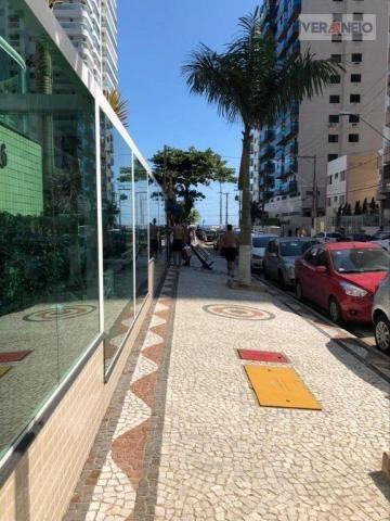 Apartamento com 2 dormitórios para alugar, 99 m² por R$ 3.100,00/mês - Canto do Forte - Pr - Foto 4