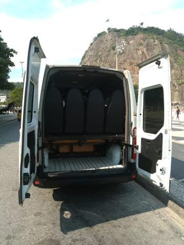 Ocasião!! Van Renault Master Executive L3H2 16 lugares diesel - Foto 5