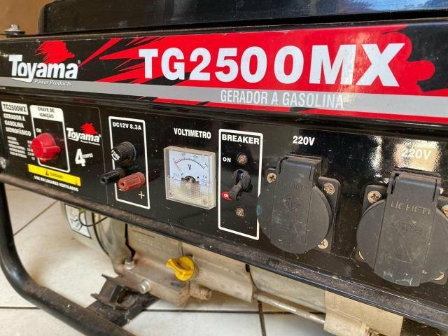 Gerador De Energia À Gasolina 2,2 Kva Tg2500mx Toyama