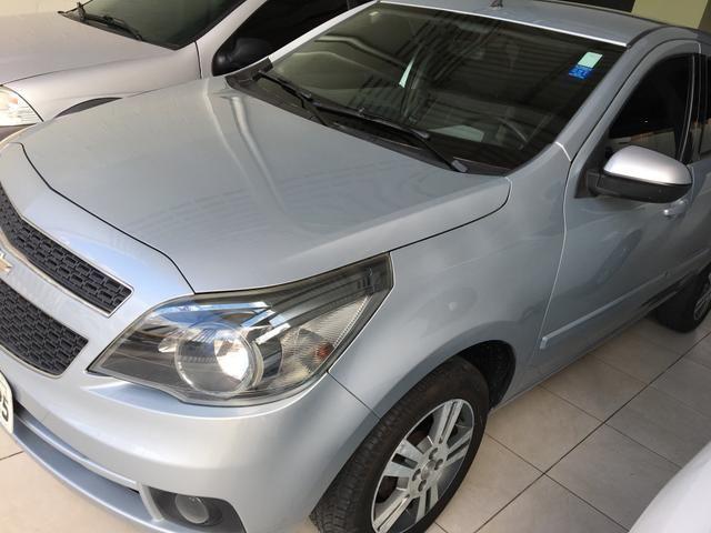 GM - ÁGILE LTZ 1.4 ano 2013, pneus novos, REVISADO, ÚNICA DONA - Foto 13
