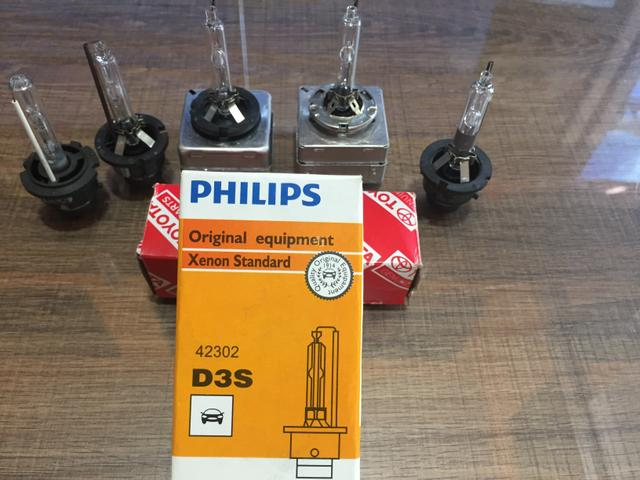 Lâmpadas Xenon para reposição originais de fábrica - Foto 3