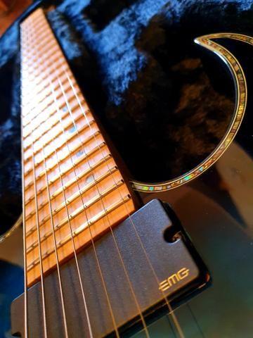 Ibanez iron label RGIX27FEQM SBS Sapphire Blue premium prestige Jem js1000 rg550 - Foto 4