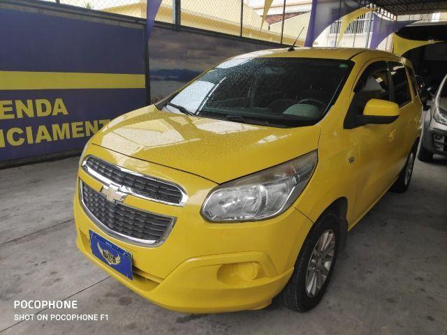 Spin lt 1.8 automatica, ex taxi completa, gnv, aprovação já, s/compr renda, 1° parc 90dias - Foto 5