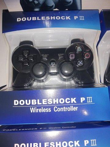 Controles PS3 novos na Caixa