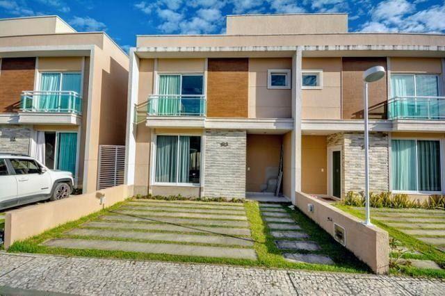 Casas em Condomínio Fechado Alto padrão no Eusébio com 3 suítes e lazer completo - Foto 3