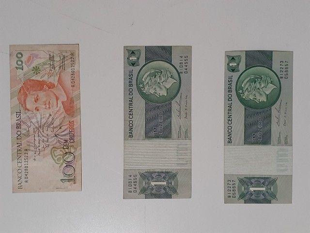 NOTAS E MOEDAS ANTIGAS $ 40,00 - Foto 4