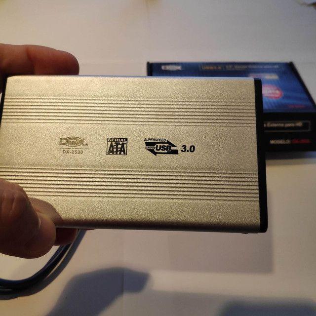 2.5 GB 250 Polegadas SATA USB 3.0 Disco Rígido Externo HDD