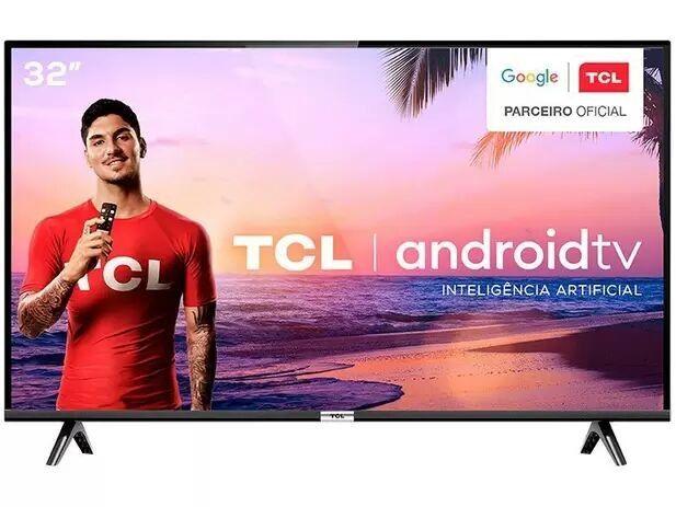 Smart TV 32 LED TCL Inteligência Artificial HDMI USB  - Foto 2