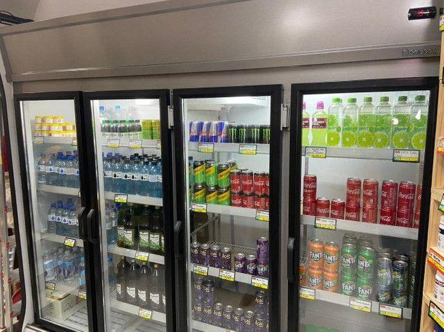Refrigerador gelopar vertical 2.39m 4 portas inox gvp4 220v - Foto 4