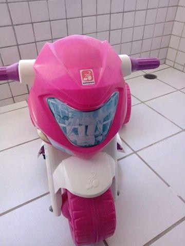 Moto Elétrica Infantil Ban Moto Gatinha 6v - Bandeirante - Foto 3