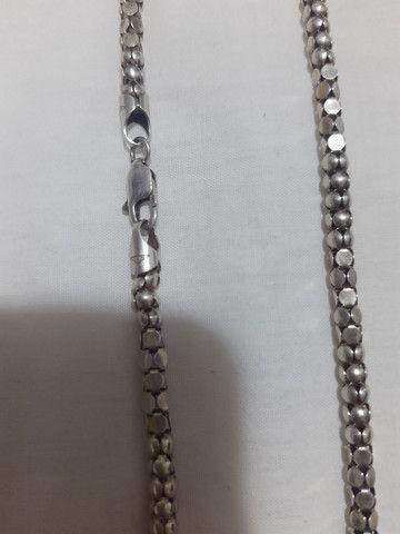 Cordão em prata - Foto 2