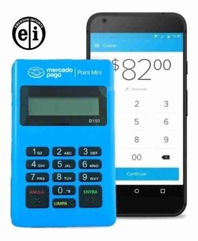 Entrega Grátis - Maquina Maquininha Cartão Mercadopago Point Bluetooth