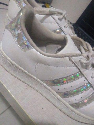 Adidas superstar usado  - Foto 3