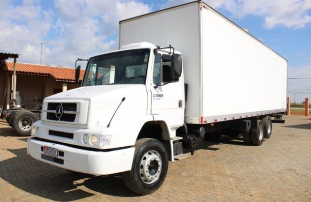 caminhão mb 1620 bau  - Foto 2