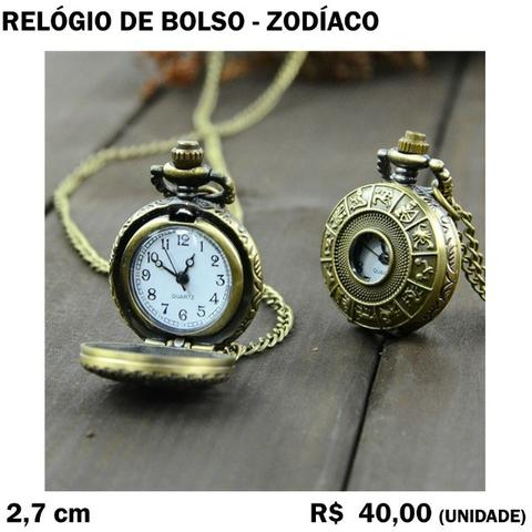 Relógio de Bolso (Zodíaco)