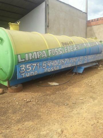 Tanque de Limpa Fossa de 25 Mil Litros