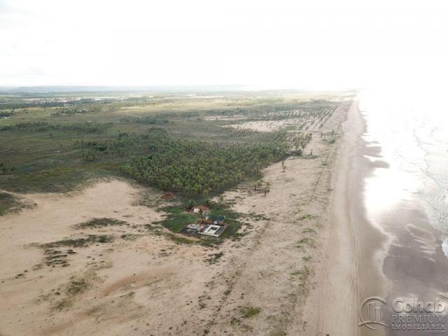 Grande área na barra dos coqueiros, a beira mar - Foto 9