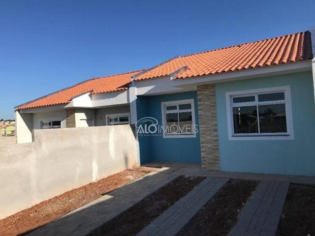 Casa com 2 dormitórios à venda, 42 m² por r$ 130.000 - estados - fazenda rio grande/pr - Foto 16