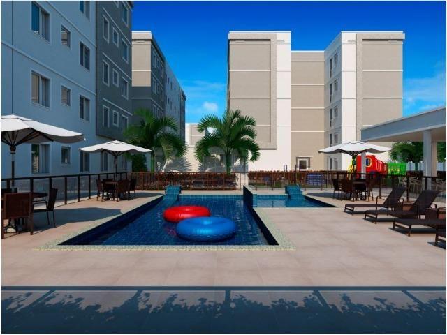 Gran Oásis - Apartamentos 2Q na região do Santa Rita, atrás do Res. Eldorado Parque - Foto 3