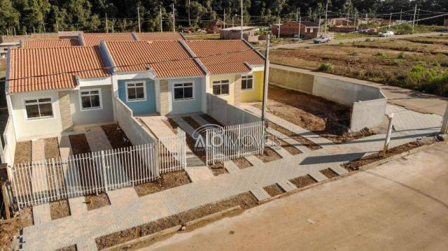 Casa com 2 dormitórios à venda, 42 m² por r$ 130.000 - estados - fazenda rio grande/pr - Foto 18